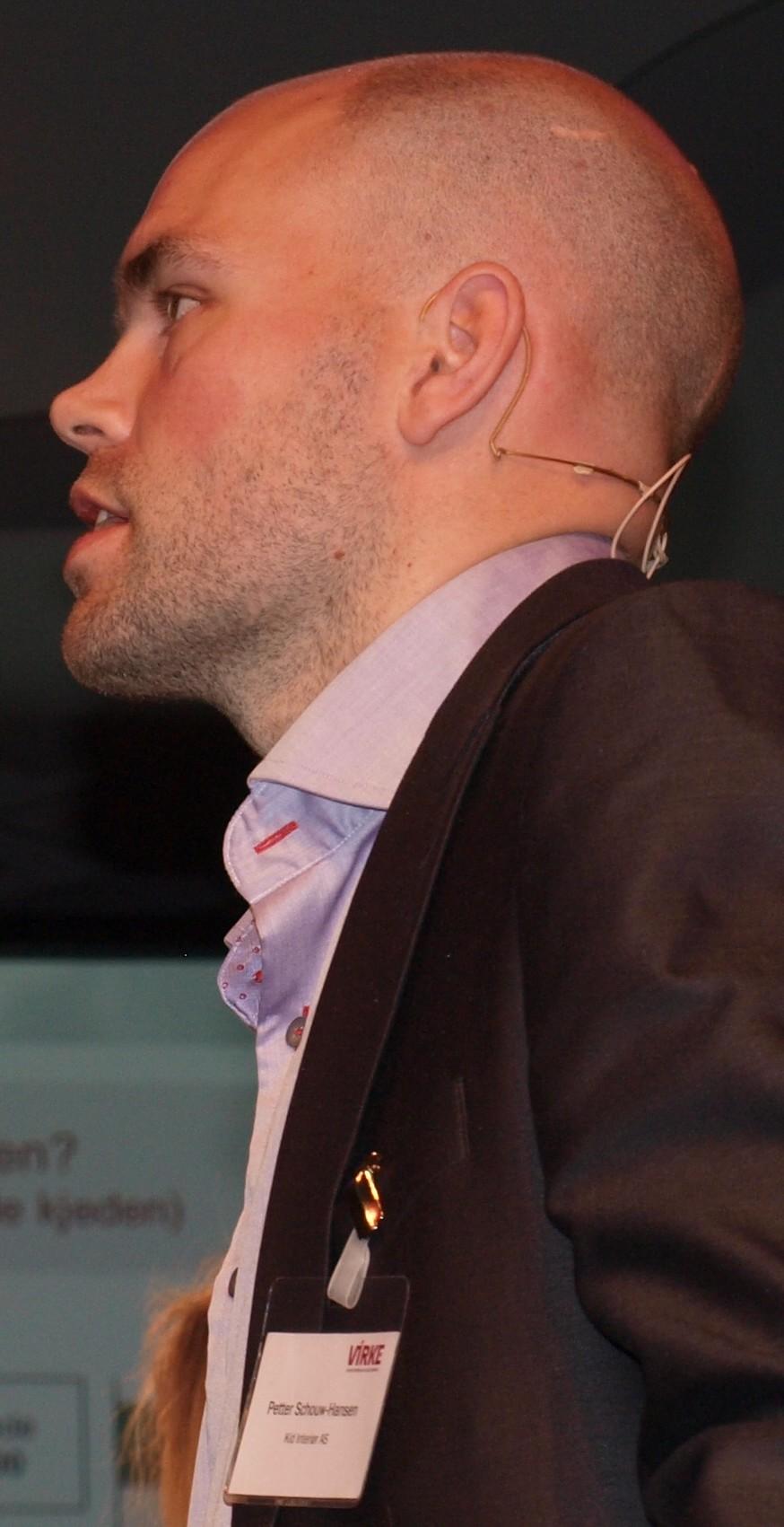 Petter Schouw-Hansen – bransjeprofil og ledertalent. (Foto: OHV)