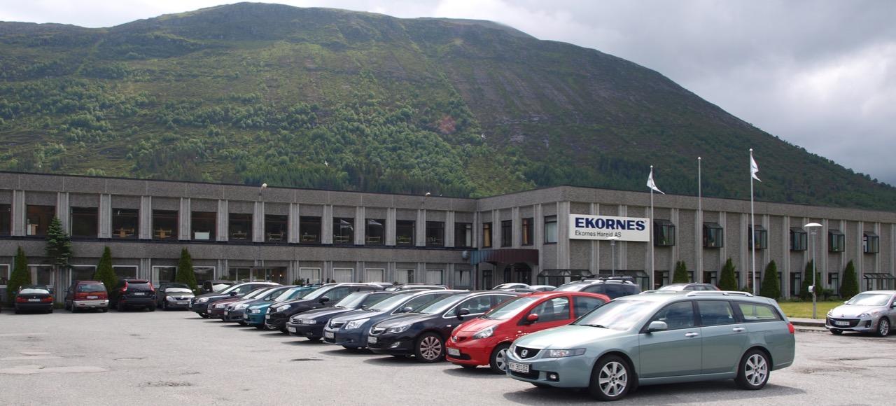 Fabrikken på Hareid som nå legges ned. (Foto: Odd Henrik Vanebo)