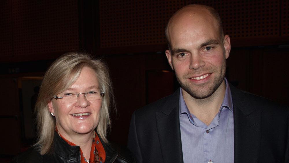 Radarparet Kjersti Hobøl (daqglig leder) og Petter Schouw-Hansen (økonomi- og finansansvarlig) er fortsatt sultne på ytterligere vekst. (Arkivfoto: Odd Henrik Vanebo)