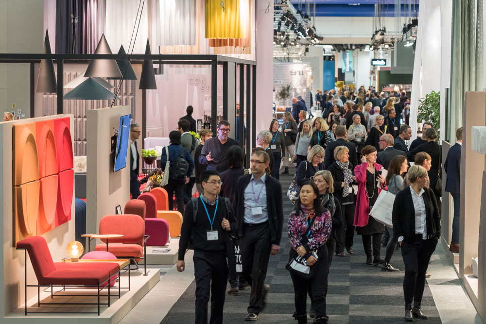 Stockholmsmessen i begynnelsen av måneden bidro trolig til hyggelige omsetningstall for møbelhandelen i Sverige i februar. (Foto: Stockholm Furniture Fair 2017)