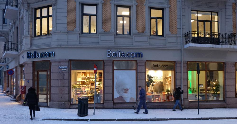 Blant andre Bolia.com i porteføljen. (Foto: Odd Henrik Vanebo)