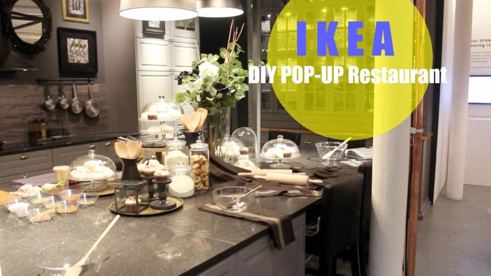 I flere tilfeller har Ikea åpnet 'pop-up'-restauranter i storbyer. (Foto: Ikea)