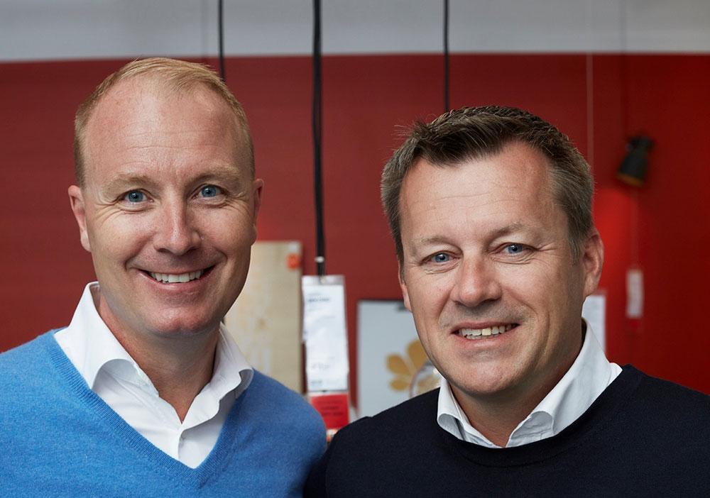 Peter Agnefjäll fratrer etter 22 år i IKEA for å slippe til Jesper Brodin, Ingvar Kamprads tidligere nærmeste medspiller i konsernledelsen, som har vært i IKEA-ledelsen i 20 år. (Foto: IKEA)