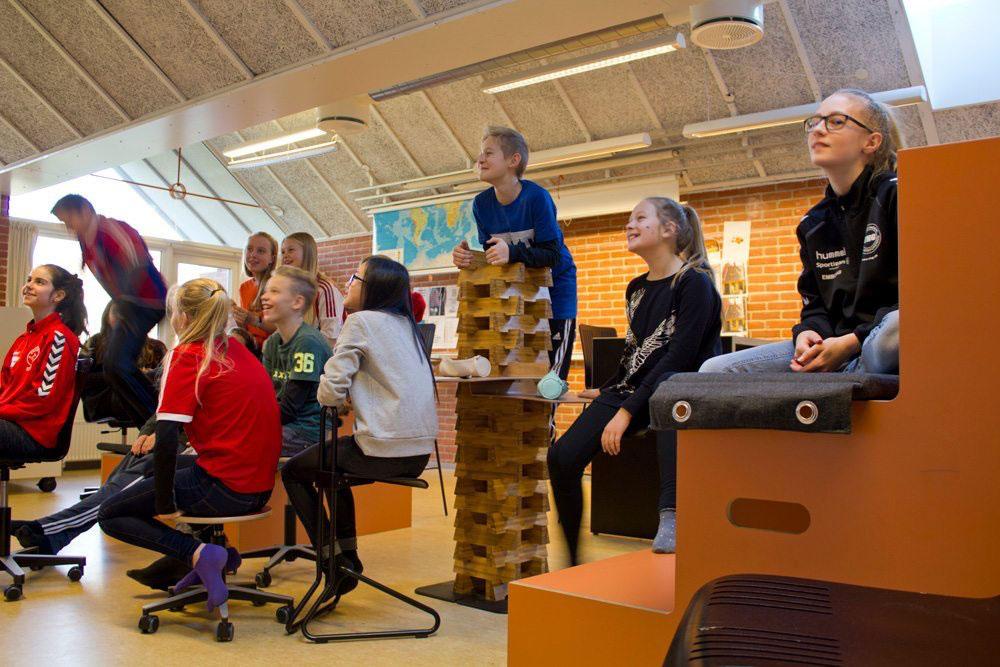 Højer Møbler har spesialisert seg på undervisningsmøbler. (Foto: Højer Møbler )