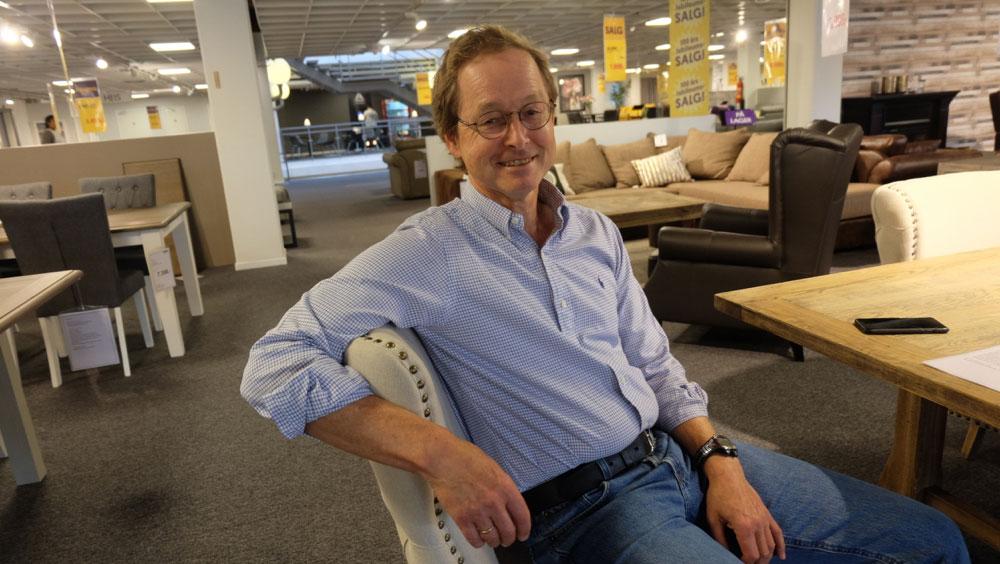 Henning Riegel er tilbake også som daglig leder i tillegg til at han er hovedeier og styreleder. (Foto: Odd Henrik Vanebo)