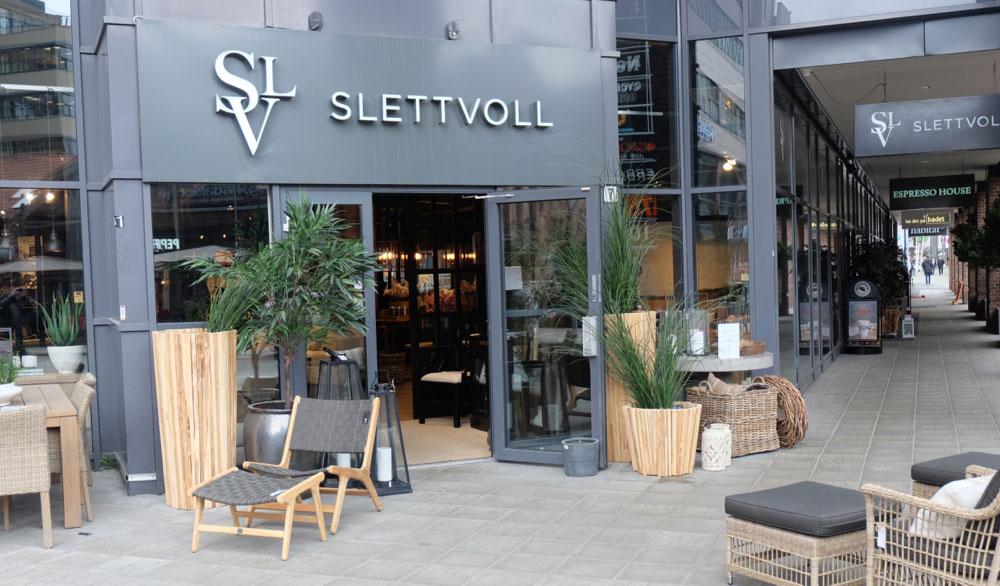 Flaggskipbutikken i Karenslyst Allé på Skøyen i Oslo hadde en resultatgrad på 13,55 prosent etter å ha økt omsetningen fra 64,2 millioner kroner i 2015 til 81,6 millioner i fjor. (Foto: Odd Henrik Vanebo)