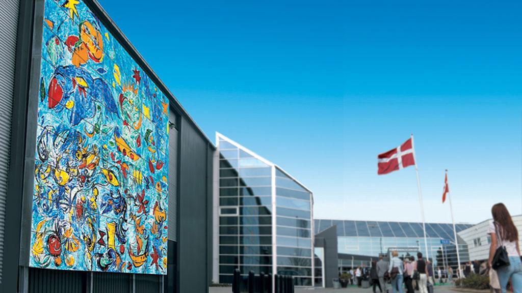 MESSE C i Fredericia ligger sentralt i Danmark, 10 minutter fra motorveien, 5 minutter fra Banegården og 40 minutter fra lufthavnen.