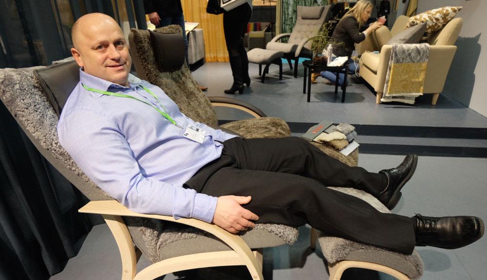 Ronny Bjøringsøy har ikke fått mye tid til å hvile seg i Brunstad-stolen det siste året. (Foto: Odd Henrik Vanebo)