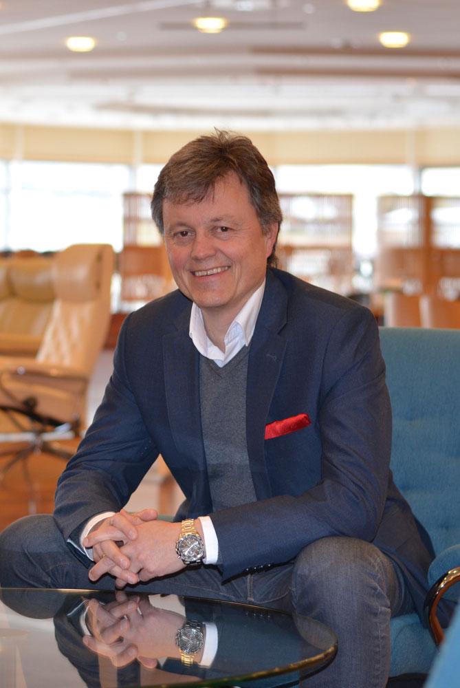 Runar Haugen har lang fartstid i Ekornes-konsernet. (Foto: Ekornes)