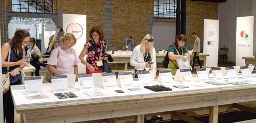 Lauch Pad er området for nyskapende tekstil og ny teknologi