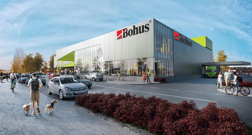 Slik fremstod Bohus på 3D-tegning da planene om utbygging i Kulltangveien ble lansert tidligere i år. (Illustrasjon: Bohus/Citicon)