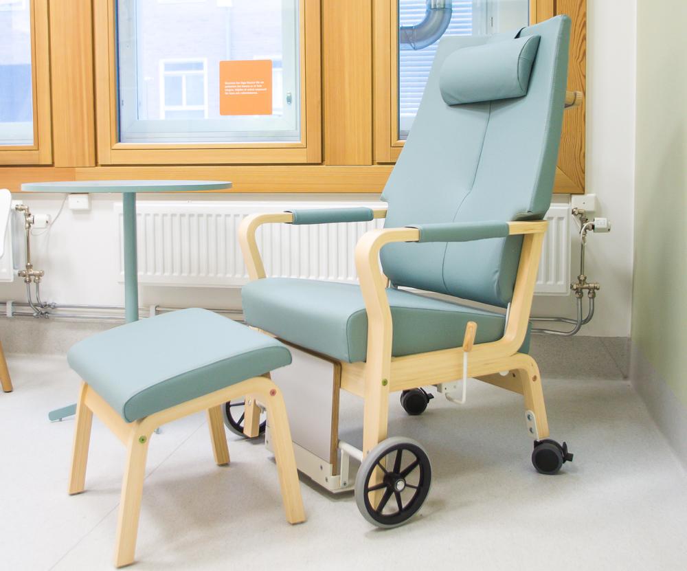Hvilestolen Duun i Helge Taraldsens design.