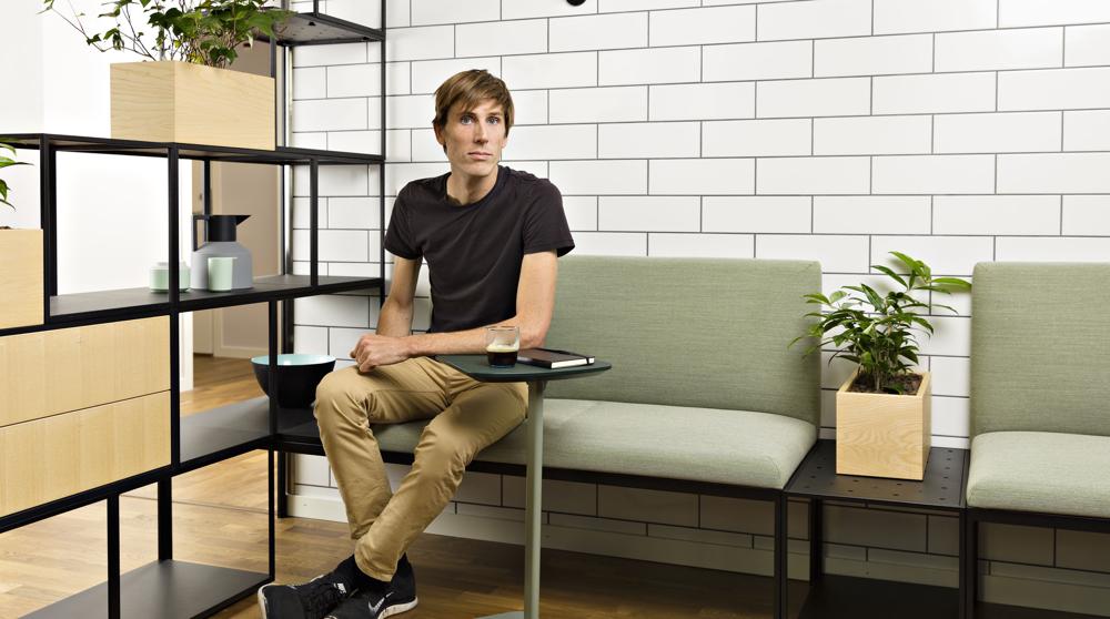 EFG Create Seating – her med designer Jonas Forsman.