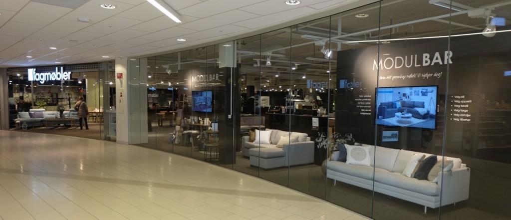 Alle Fagmøbler-butikker bidrar med andel av omsetningen. (Foto: Odd Henrik Vanebo)