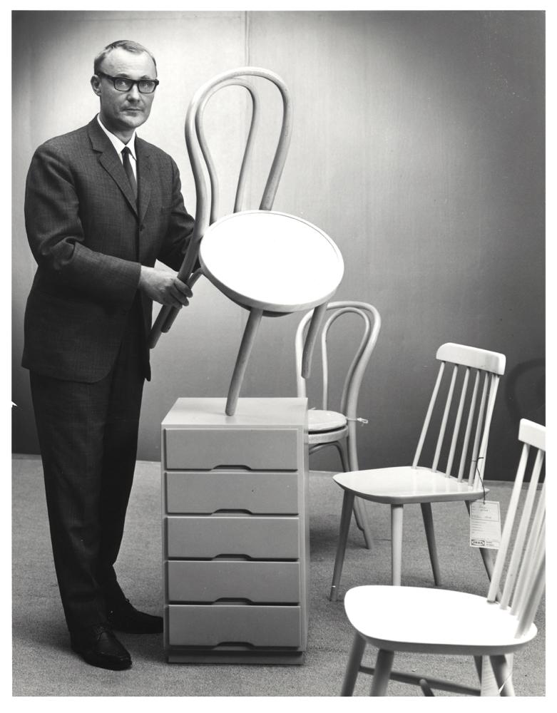 IKEA Museum grunnlegger Ingvar Kamprad på1960-tallet.
