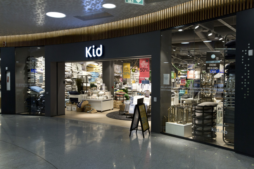 Kid-butikken på Fornebu. (Foto: Kid)