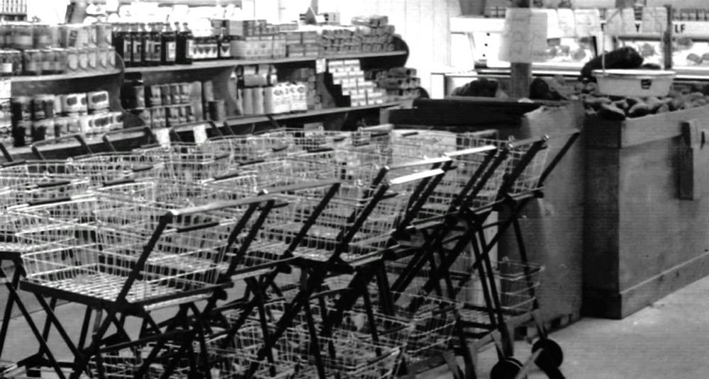 Sylvan Goldmans oppfinnelse startet en revolusjon i detaljhandelen.