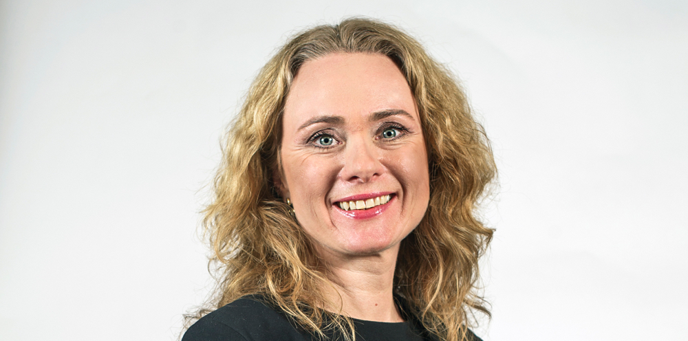 Anniken Hauglie: – Avsløringen av 11 kriminelle nettverk er antagelig bare toppen av isfjellet. (Foto: Thomas Haugersveen/ Statsministerens kontor)