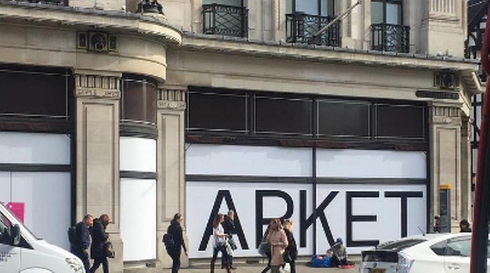 Arket etablerer seg på Regent Street, hvor også Arket–butikk nr. to i London kommer. (Foto: Arket)