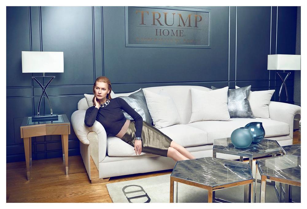 The Trump Home Collection er et eksepsjonelt supplement for både bolig- og utleieinstallasjoner,' heter det i egenreklamen. (Foto: trumphomecollection.com)
