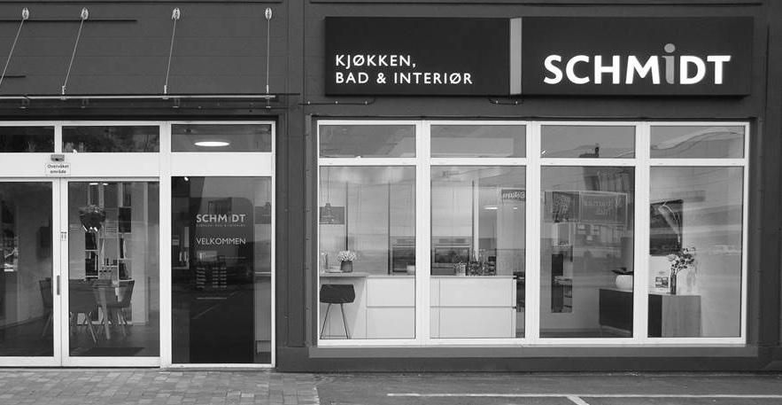 En kjent butikkprofil – snart også å finne i Drammen. (Foto: Schmidt Nordic)