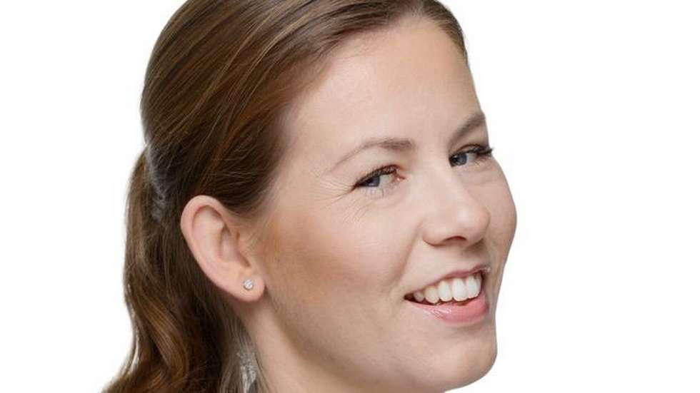 Trine-Marie Hagen: – Hvis dette nå holder seg, så nyter vi godt av det til neste år. (Foto: Ekornes)