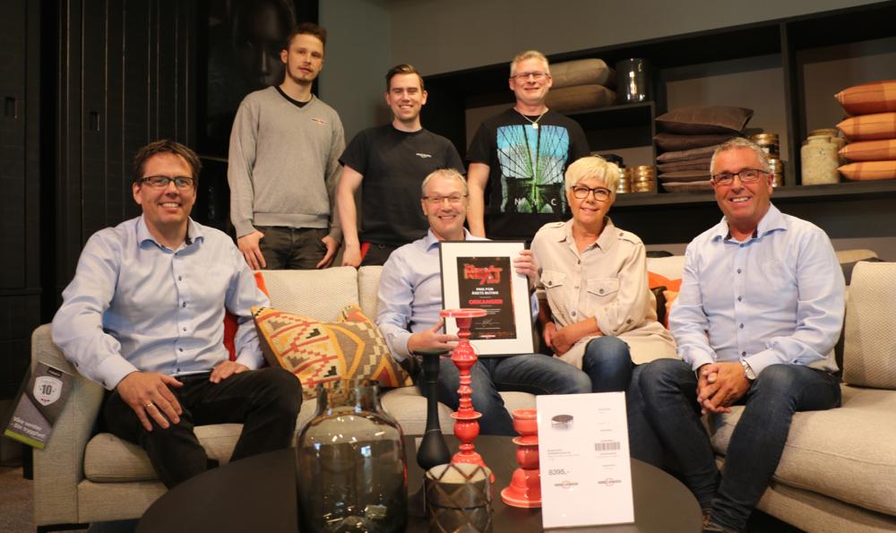 Rostad Møbler på Orkanger ble kårets til Årets Møbelringen-butikk og brukes som benchmark for kjedens butikker som går for forbedringer. (Foto: Steinar Larsen/Avisa Sør-Trøndelag)