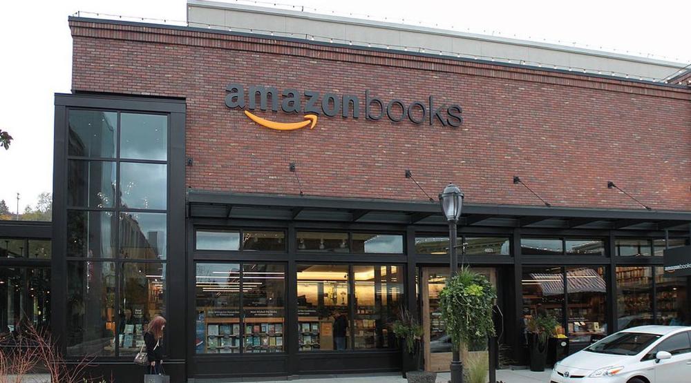Teknologiselskapene dominerer. Amazon, som nå ikke bare driver netthandel med bøker, men også tilbyr 'brest utvalg' mws et stort møbelsortiment, har avansert fra 26. til 4.-plass. (Foto: wikimedia)