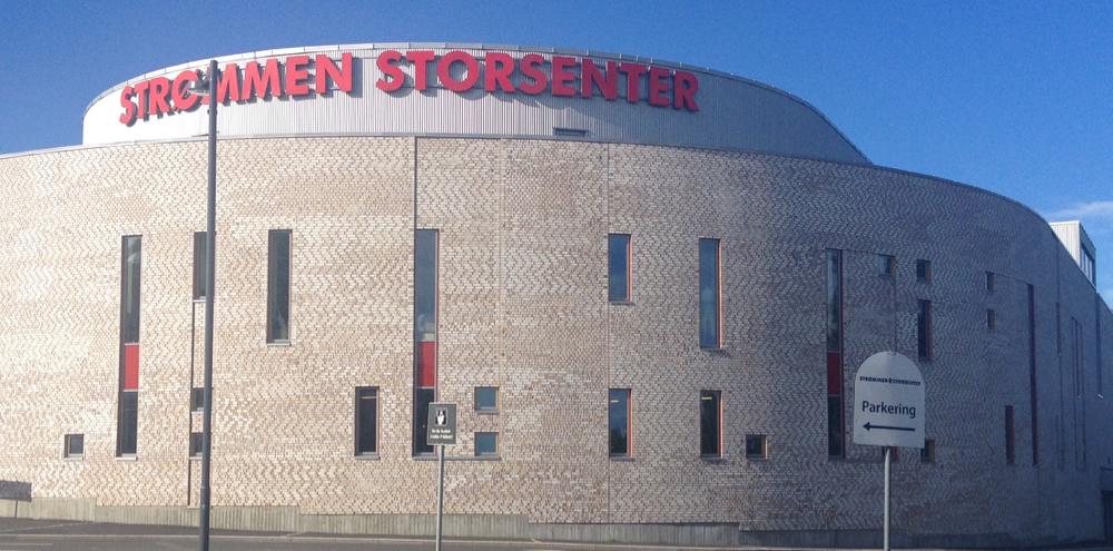 Strømmen Storsenter med bla. Bohus i butikkportefljen haler innpå Sandvika Storsenter som Norges største kjøpesenter. Det er i 1. halvår skarve 5 millioner opp til tetplassen. (Foto: Strømmen Storsenter)
