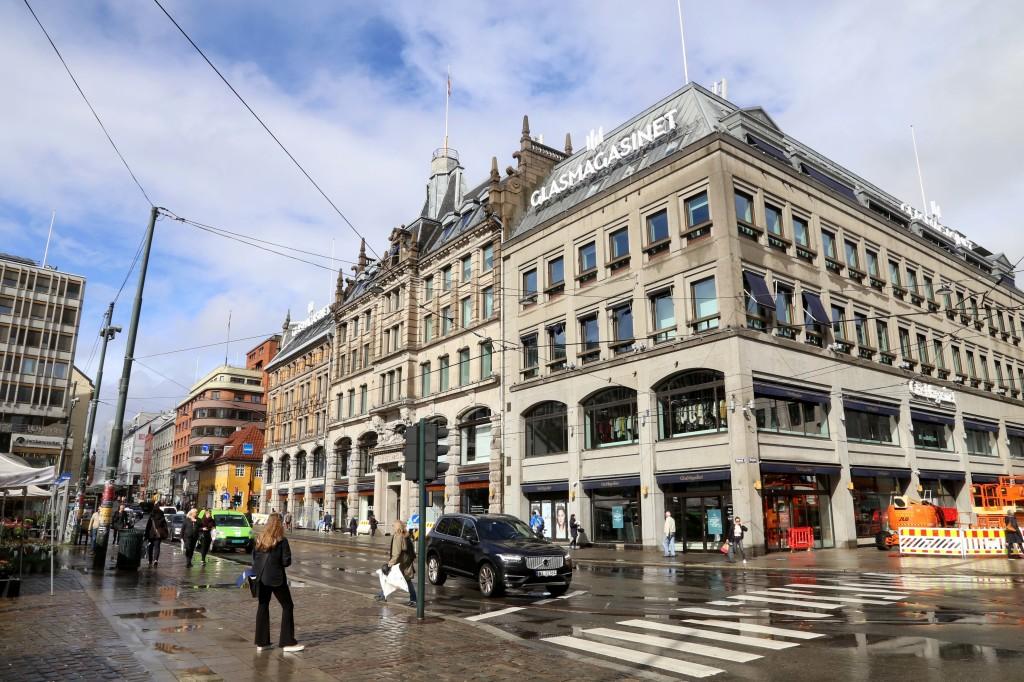 NYÅPNING: Glasmagasinet åpner igjen etter oppussing. (Foto: Roar Grønstad/KLP)