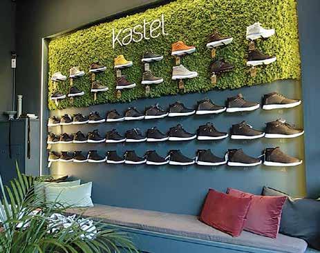 Kunden velger selv, trekker kortet og får skoene i løpet av kort tid.