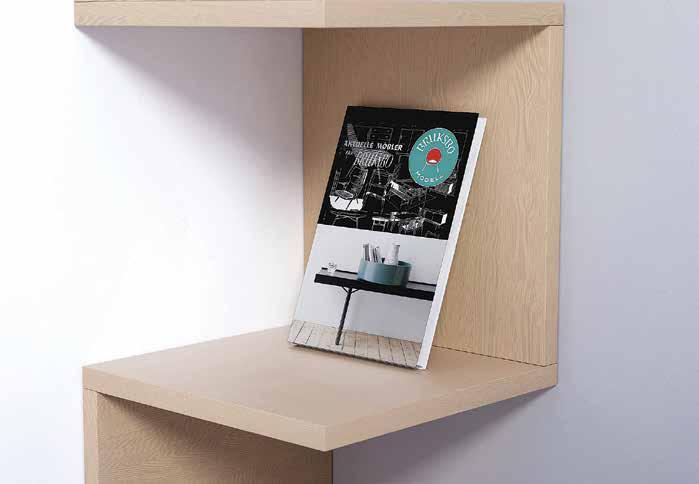 Aktuelle møbler fra Bruksbo kan bestilles på formforlag.com og i din lokale bokhandler. Pris kr. 449,-