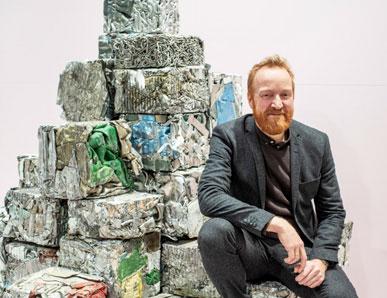 Christian Lodgaard og Flokk, fra avfall til designstoler.