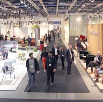Stockholm Furniture & Light Fair – utstillingsvindu fir nordisk design.