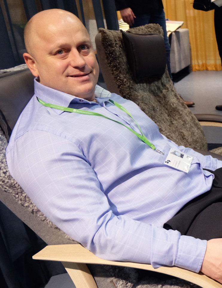 Ronny Bjøringsøy får ikke mye tid til å hvile seg i Brunstad-stolen fremover.