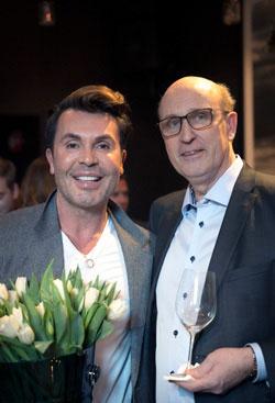 Jan Thomas og og Magnorsjef Bjørn Waage