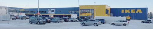 IKEA Nydal har utløst en sterk Big Box-effekt på Hedmarken.