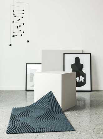 Heymat+ - resirkulert plast i inngangen. Foto: Sofie Brovold og stylist Kirsten Visdal