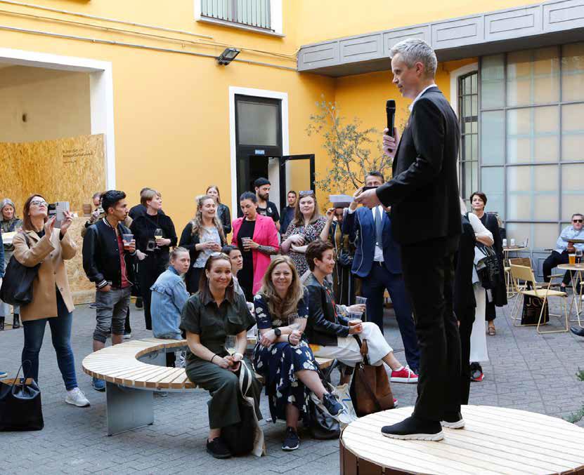 DOGAs administrerende direktør Tor Inge Hjemdal åpner Norwegian Presence.