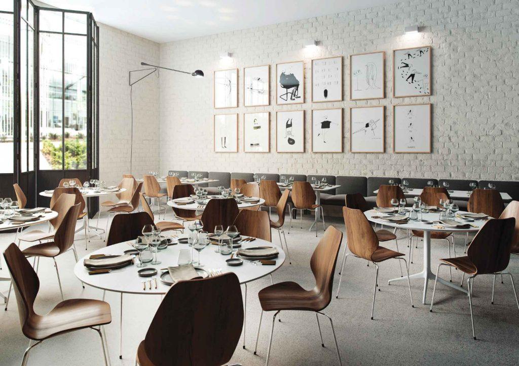 City er blitt en populær og komfortabel restaurantstol