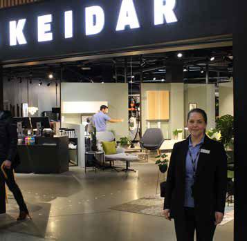 Lise Marie Olsen er varehussjef på Skeidar Fornebu.