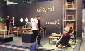 Eikund debuterte på Stockholm Furniture & Light Fair