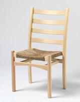 Klassiske Aksel fra Aksel Hansson. Berg utviklet modellen som stablestol.
