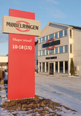 Litt blandet drops for Møbelringen Hamar de senere år, uten at det behøver i ha sammenheng med IKEA-etableringen.
