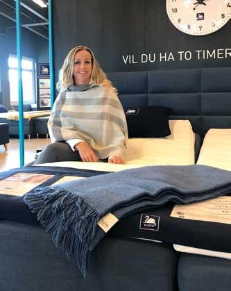 Stina Bredal-Rørvik ser flere utfordringer i bransjen (foto: Ekornes Beds)