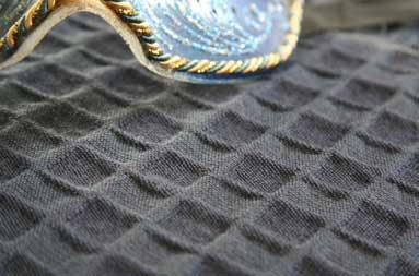Tekstil kan ha mange overflater