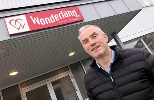 Lars Stenerud er administrerende direktør på Wonderland.