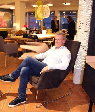 Nilsens møbelkrav: Det må være komfortabelt!