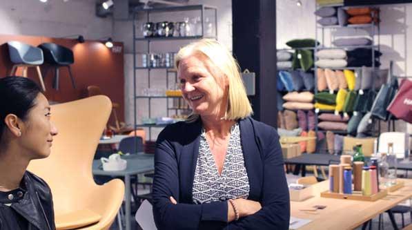Siri Eriksson er daglig leder på Verket Interiør (foto: Knut Skoe).