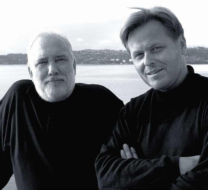 Dave Vikøren og Steinar Hindenes var Circus Design